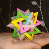 Five Intersecting Tetrahedra